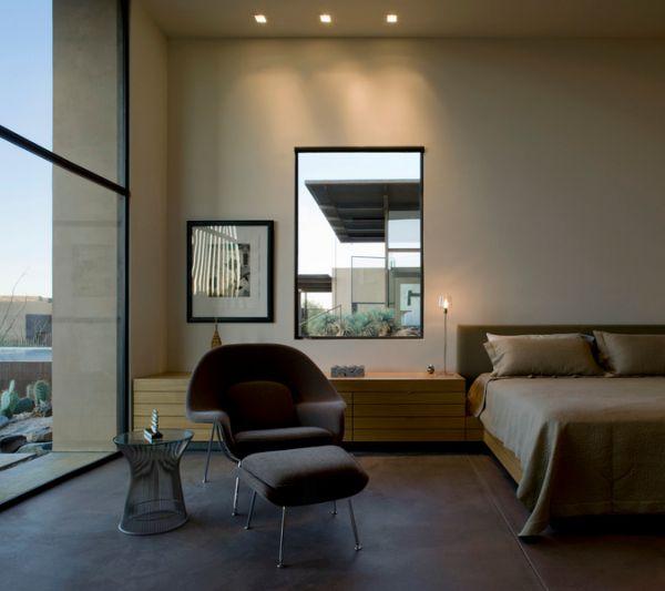 Замечательное кресло Womb от Eero Saarinen