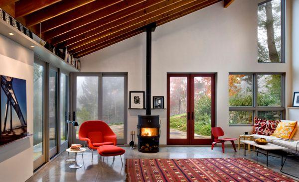 Удивительное кресло Womb от Eero Saarinen