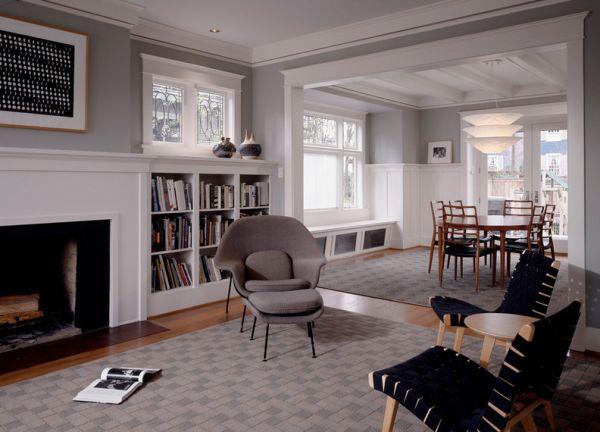 Уникальное кресло Womb от Eero Saarinen