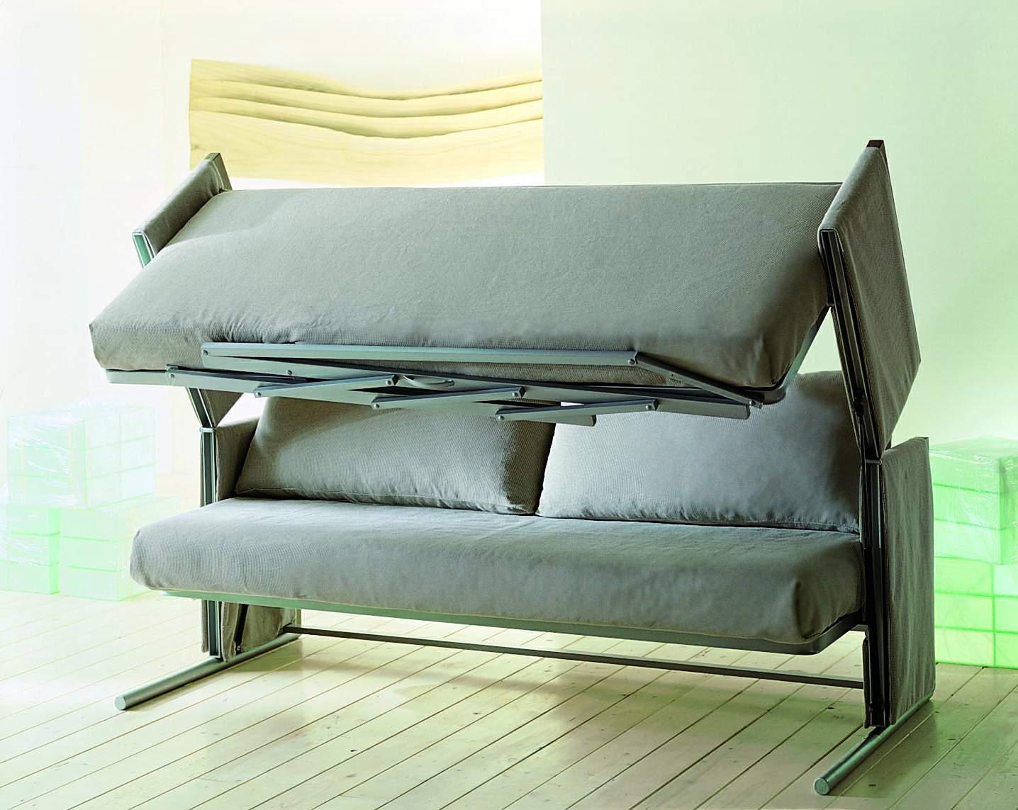 Процесс трансформации дивана