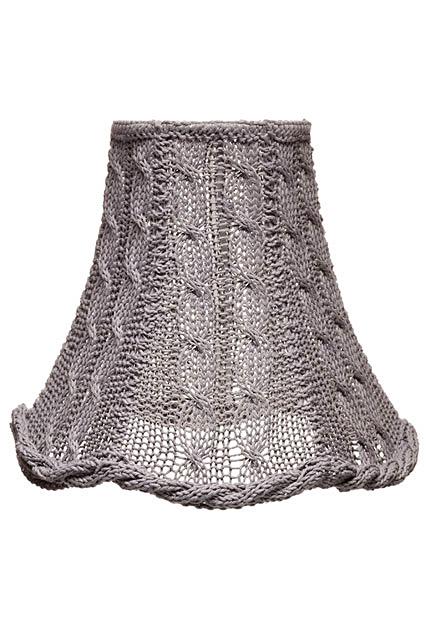 Плетенный флакон для светильник