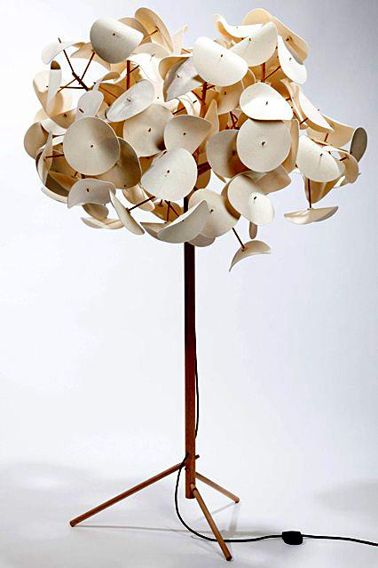 Креативная напольная лампа