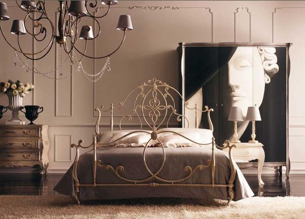Креативная кровать во французском стиле