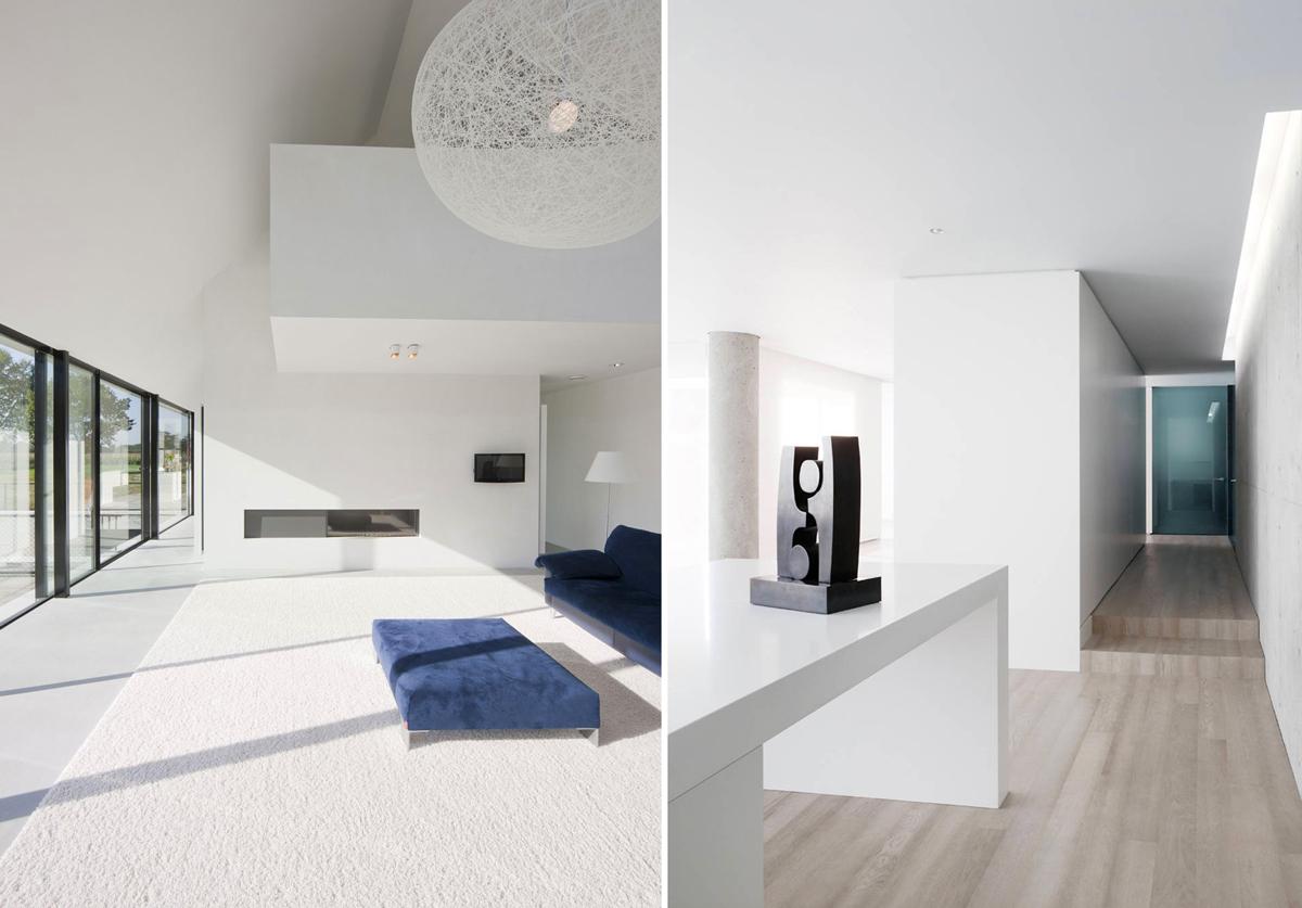 Оформление интерьера помещения в стиле минимализм