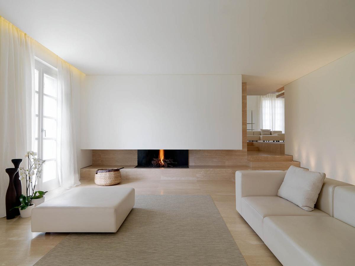 Восхитительное оформление интерьера помещения в стиле минимализм