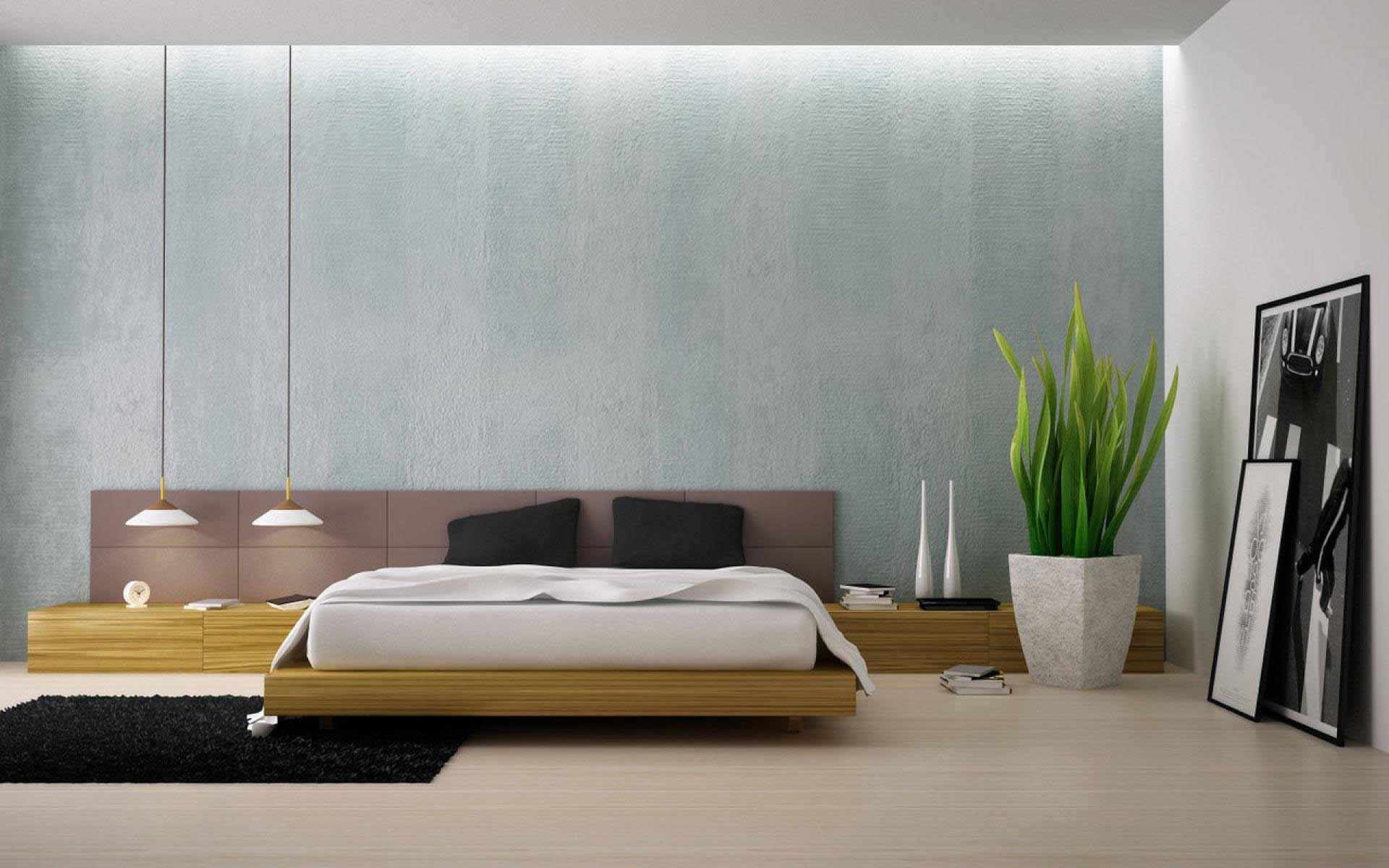 Бесподобное оформление интерьера помещения в стиле минимализм