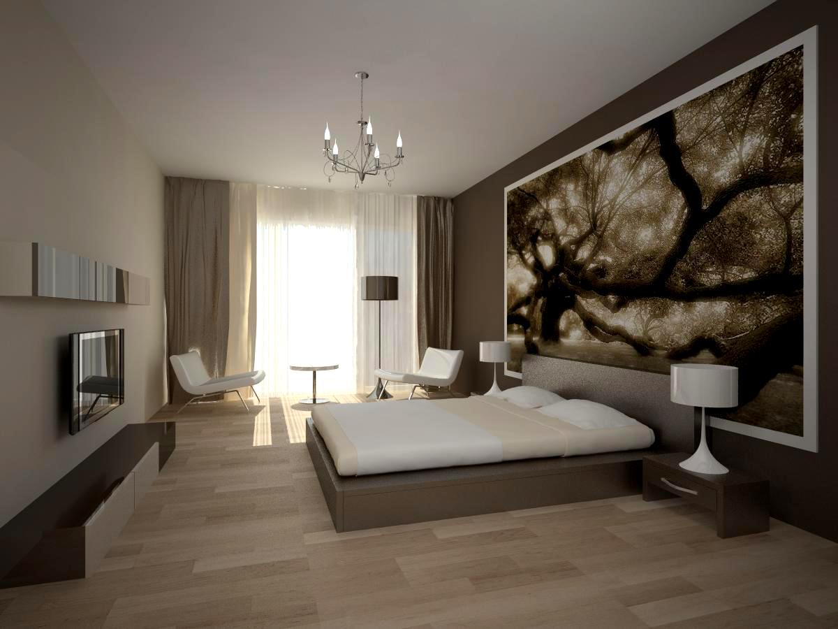 Дивное оформление интерьера помещения в стиле минимализм