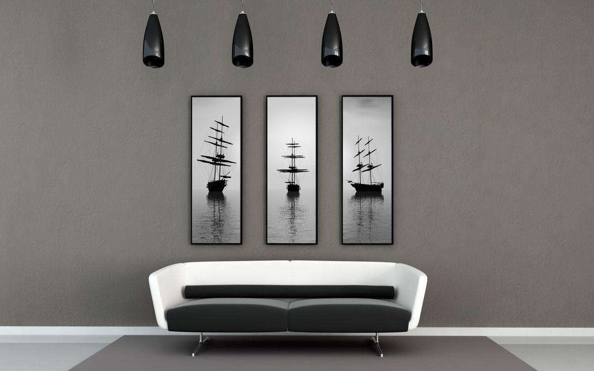 Удивительное оформление интерьера помещения в стиле минимализм
