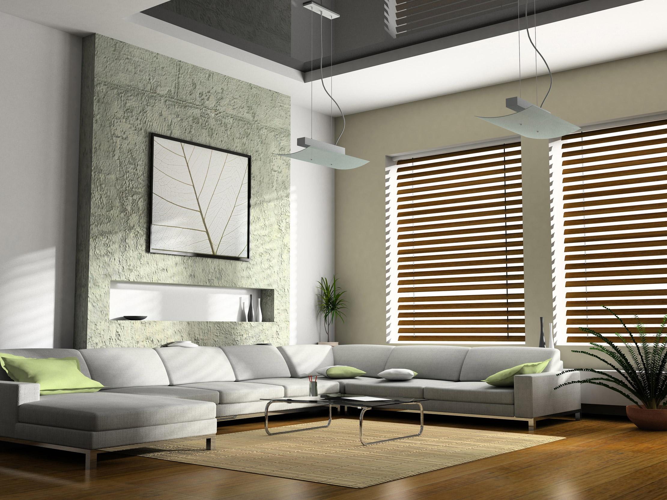 Шикарное оформление интерьера помещения в стиле минимализм