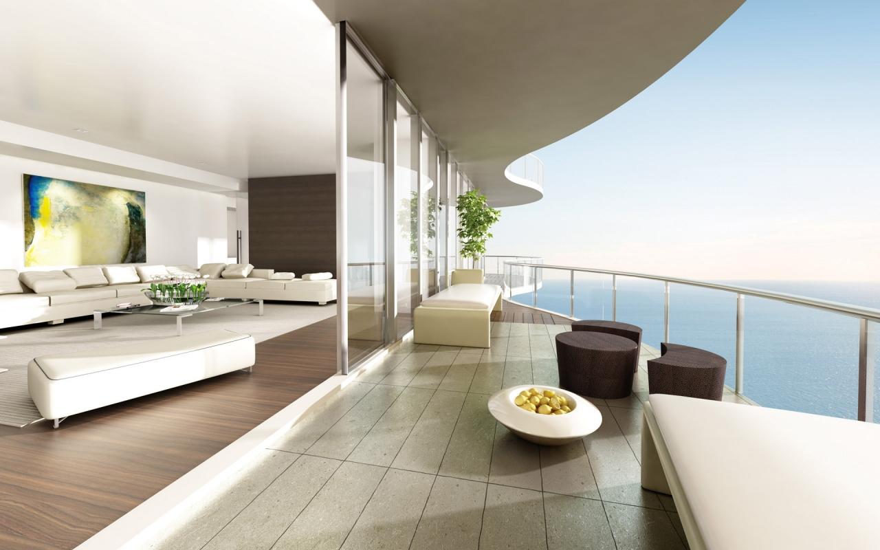 Яркое оформление интерьера помещения в стиле минимализм