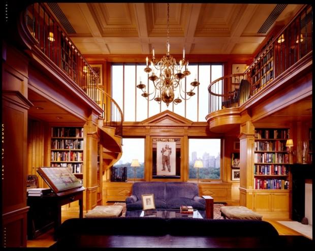 Замечательный дизайн интерьера помещения в стиле ренессанс