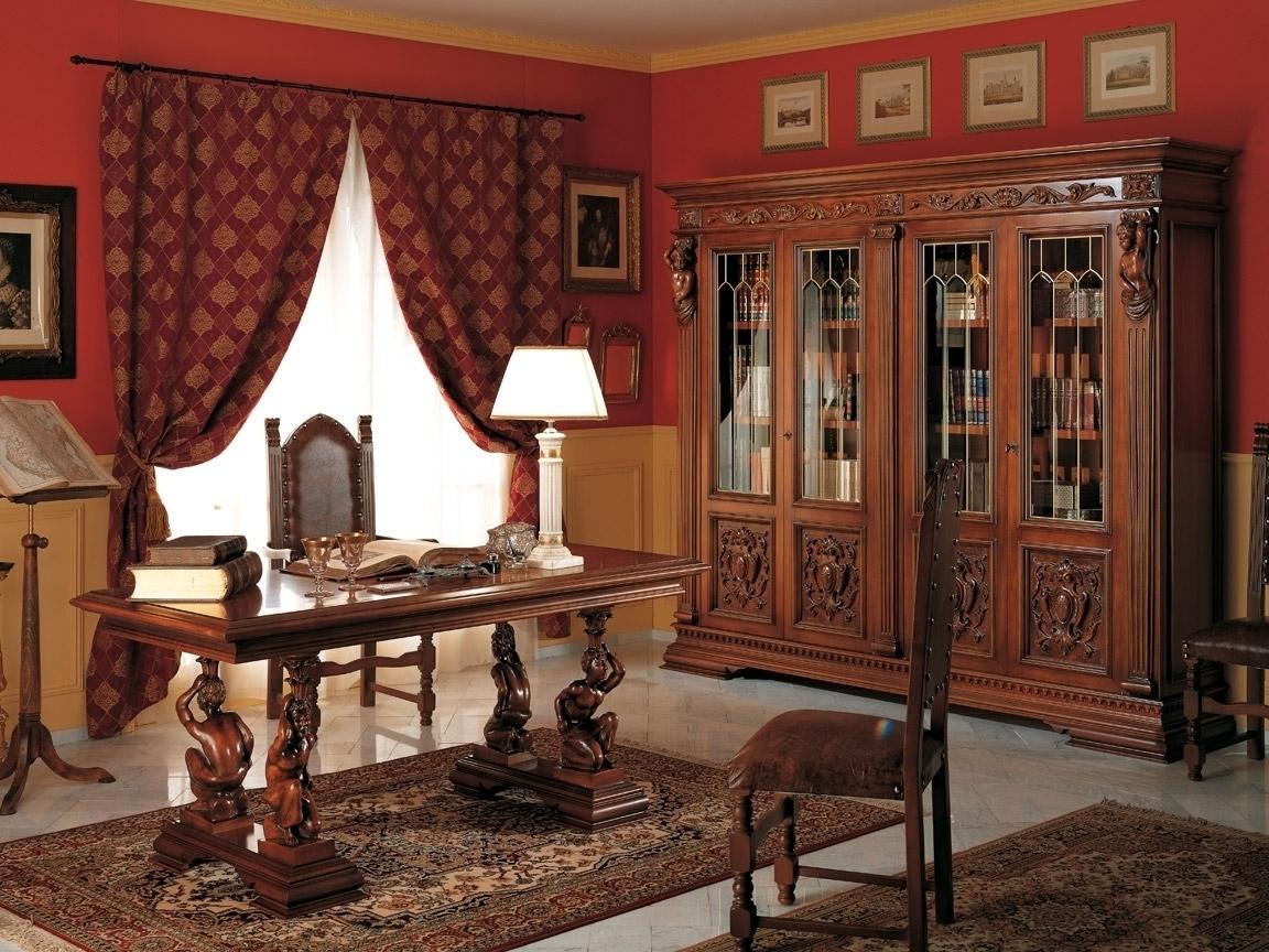 Шикарный дизайн интерьера помещения в стиле ренессанс