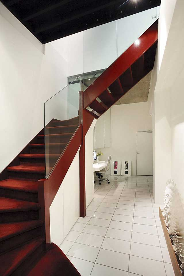 Лестница в урбанистическом стиле