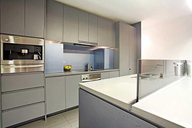 Кухня в урбанистическом стиле