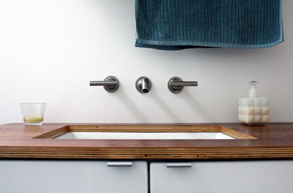 Кухонная столешница из фанеры столешница из искусственнго камня