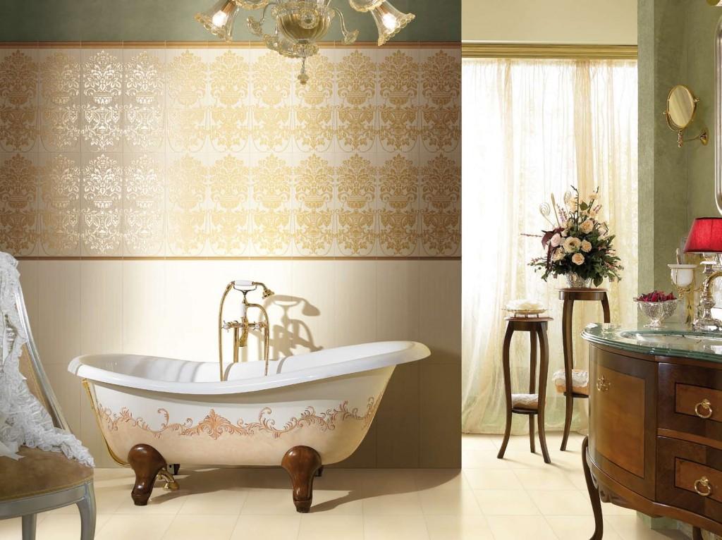 Ванная в стиле рококо