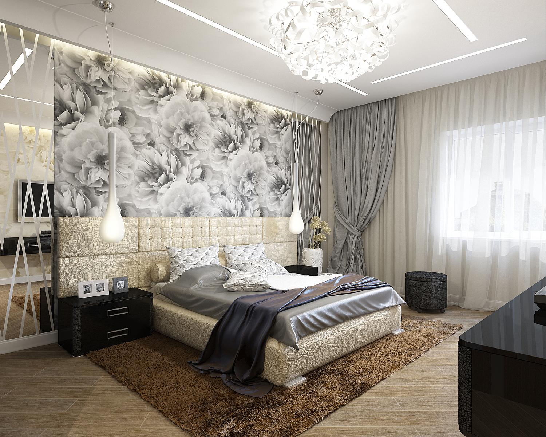 Головокружительные шторы в дизайне интерьера помещения