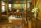 Сочетание западного и старого японского стиля в дизайне интерьера