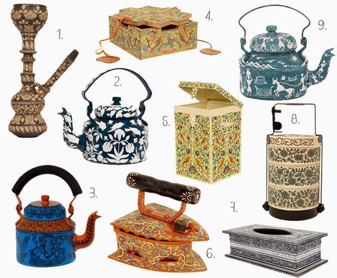 Декор с цветочными и этническими принтами