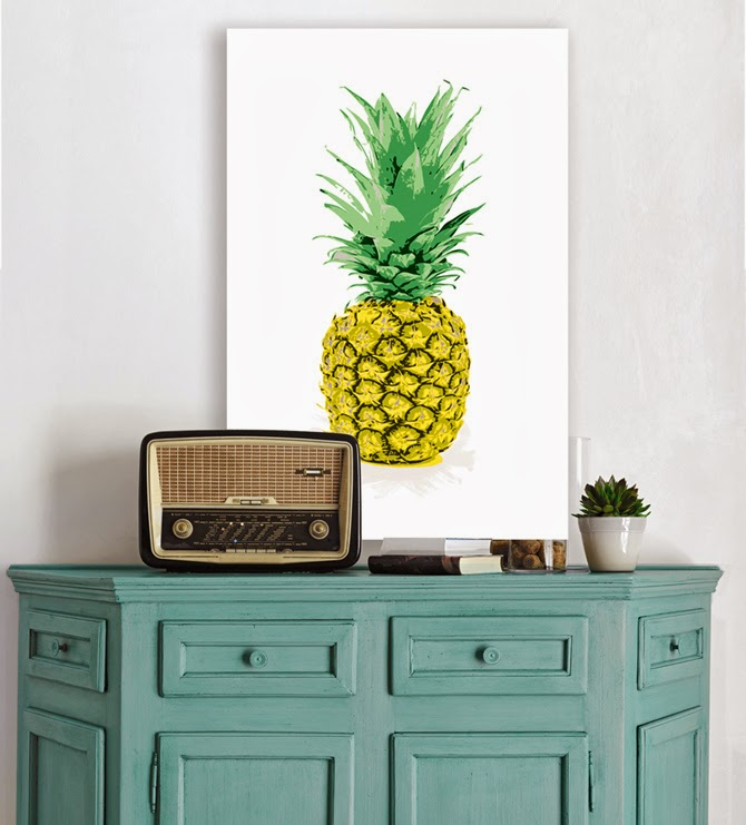 Картина ананас