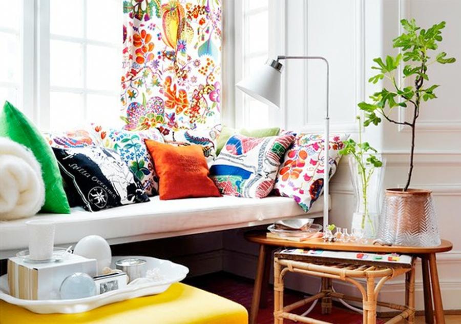 Текстить с цветочными принтами