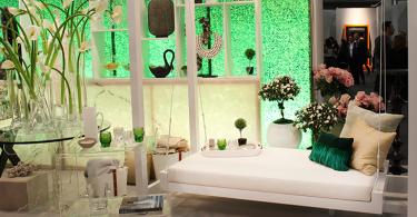 Оформление выставки трендовых дизайнов интерьеров 2015 года