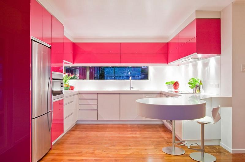 Весенние тренды в оформлении кухни