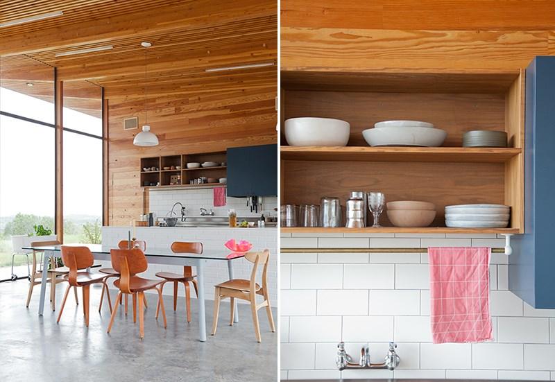 Красочный дизайн в интерьере кухни