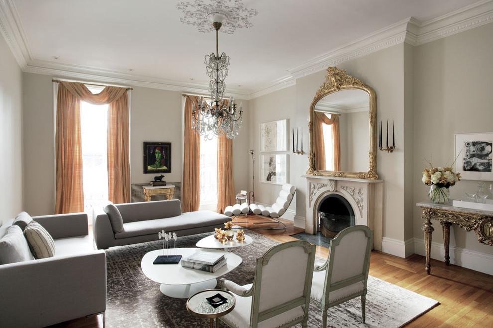 Потрясающий интерьер домов в стиле барокко