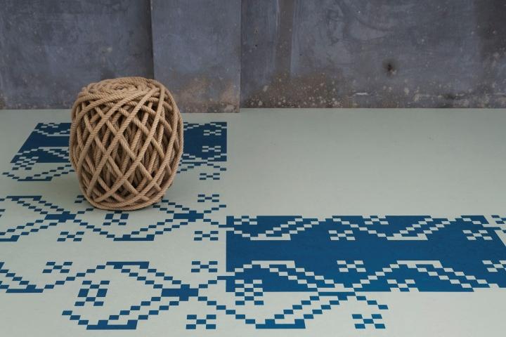 Интерьер в народном стиле выполнен методом Aquajet