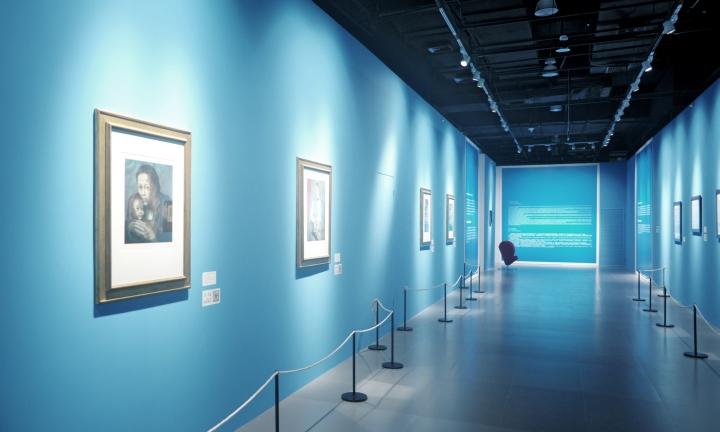 Интерьер выставки Легенда искусства, Пикассо в Шанхае - Фото 3