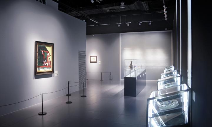Интерьер выставки Легенда искусства, Пикассо в Шанхае - Фото 14