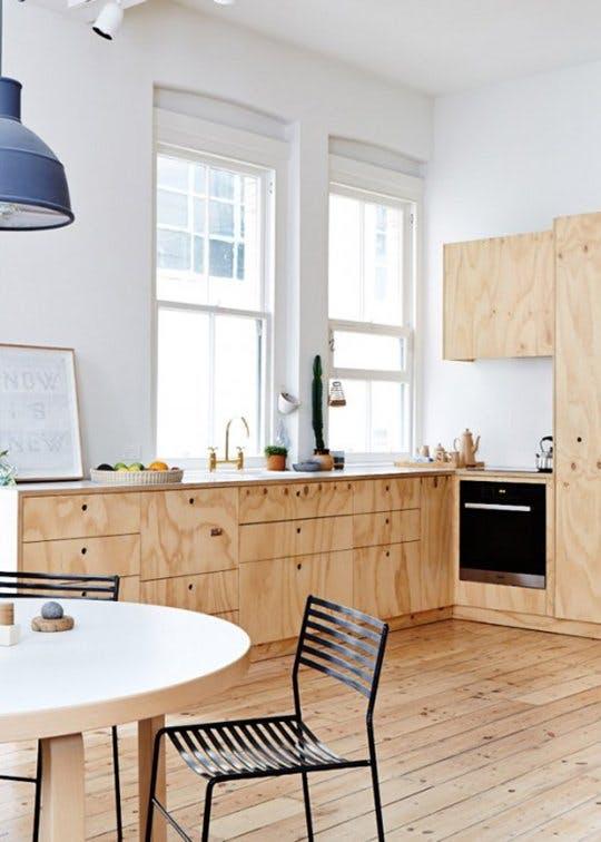 Интерьер 90-х годов - кухня (фото 2)