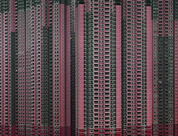 Архитектурная плотность Гонконга от Michael Wolf