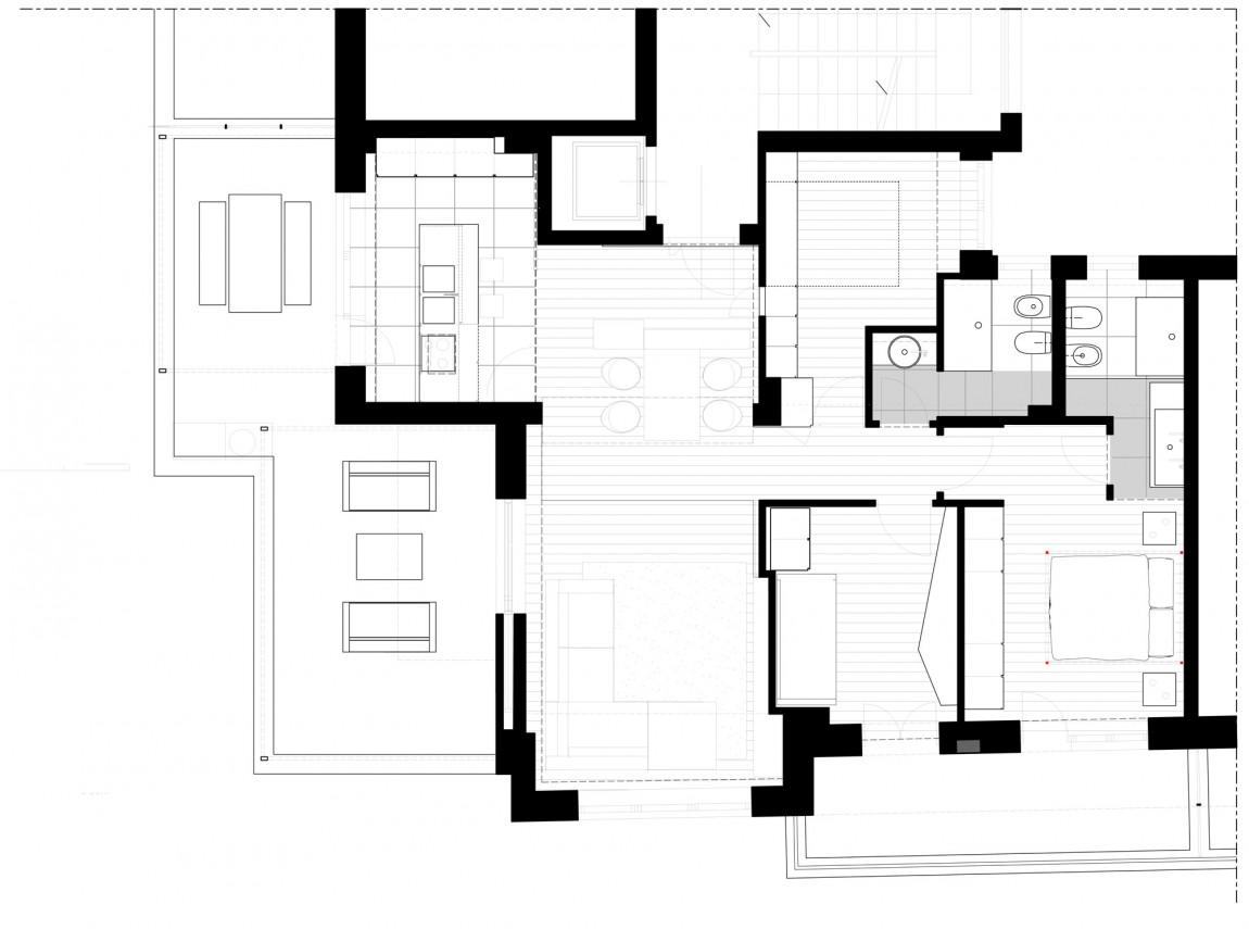 План Железного дома в минималистичном стиле, Италия
