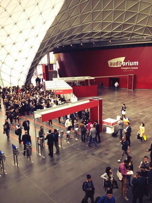 Международная выставка мебели в Милане