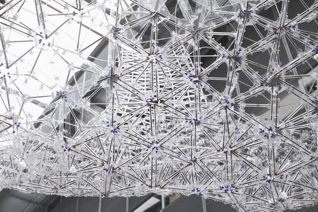 Искусство дизайна интерьера: инсталляция из шариковых ручек - Фото 5