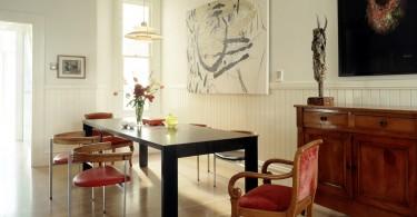 Эклектика в столовойот Fougeron Architecture FAIA