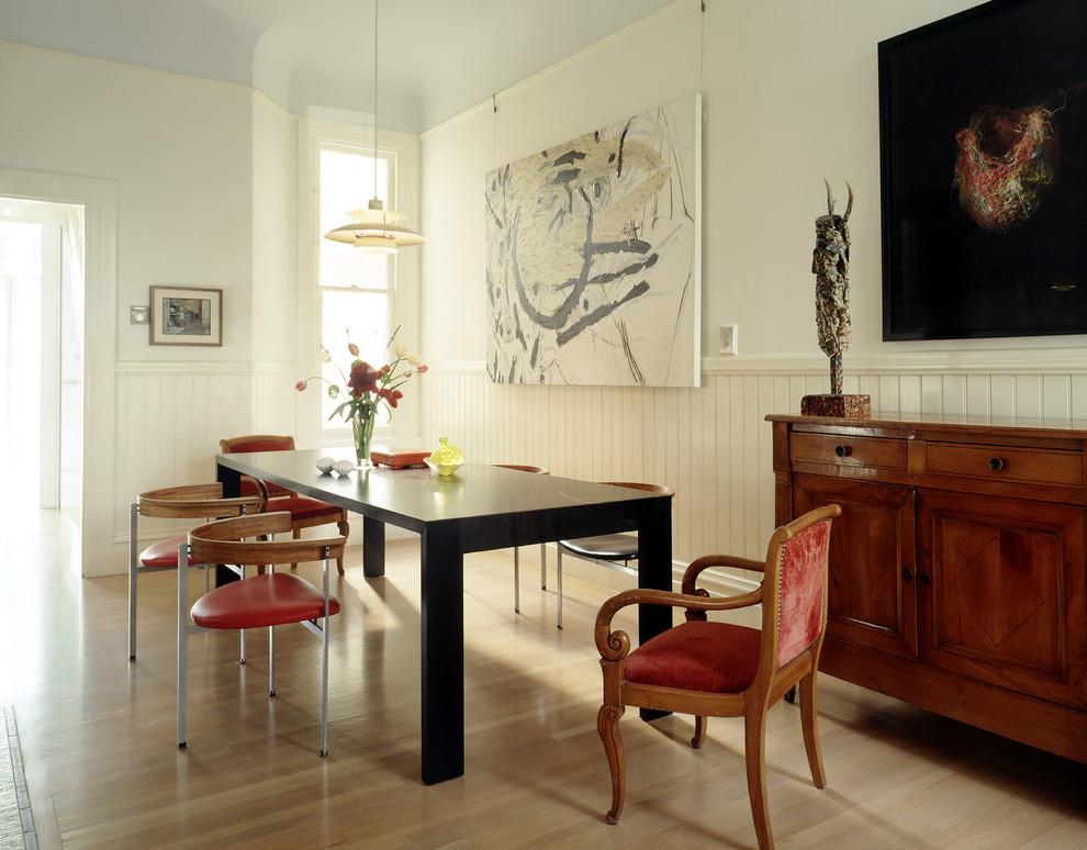 Эклектика в столовой от Fougeron Architecture FAIA
