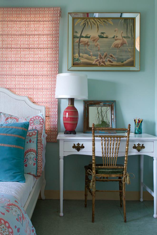 Эклектичная спальня от Erika Bierman Photography