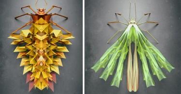 Иштван Джордано: фантастическое генерирование 3D-насекомых