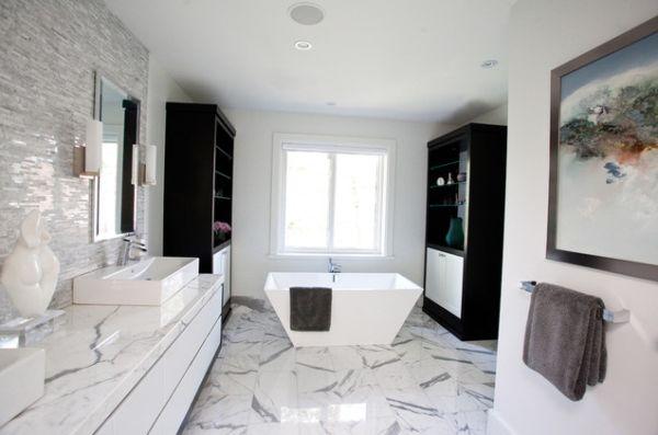 Чудесный дизайн интерьера ванной в итальянском стиле