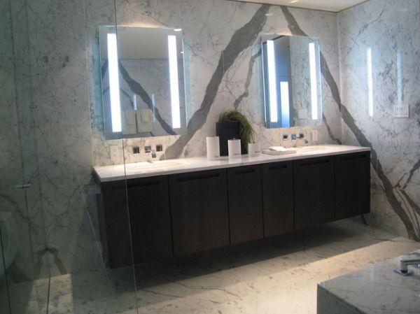 Прекрасный дизайн интерьера ванной в итальянском стиле
