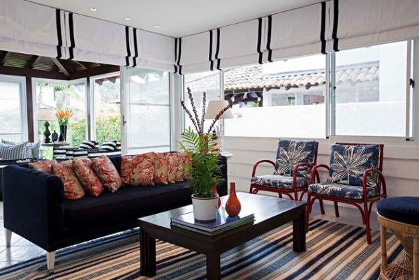 Замечательный дизайн интерьера гостиной в итальянском стиле
