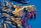 Иван Беликов: интерпретация цветного герба Нидерландов в трёхмерном панно