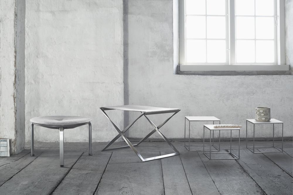Известный датский дизайнер Poul Kjaerholm - стулья PK33 и PK91