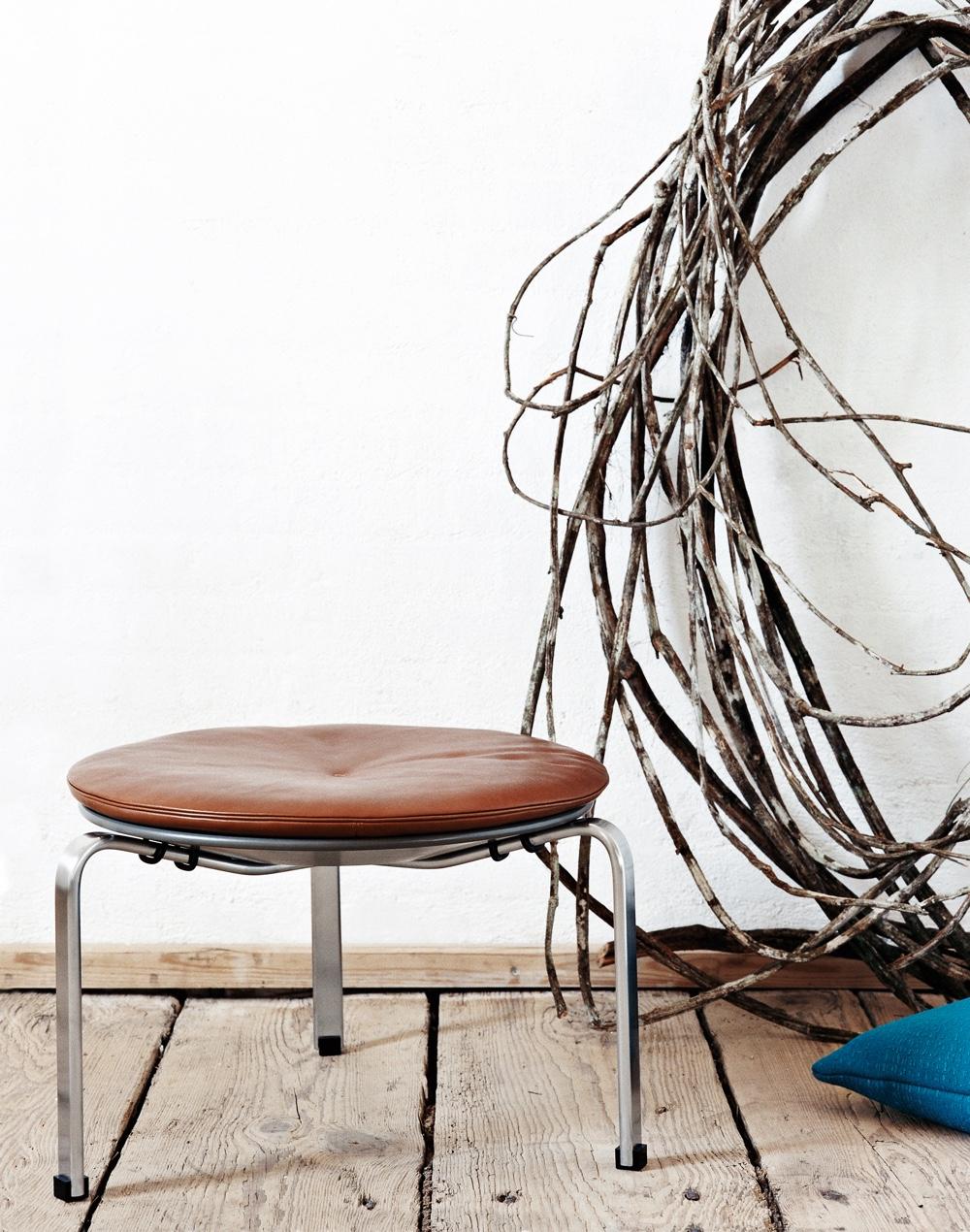 Известный датский дизайнер Poul Kjaerholm - стул PK33 в разных цветах