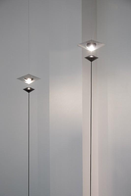 Известный итальянский дизайнер Витторио Венеция: магнитные лампы