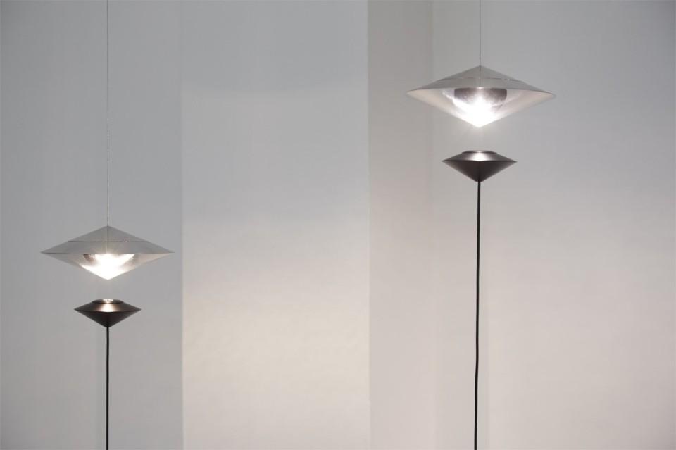 Известный итальянский дизайнер Витторио Венеция: лампада Magnetica