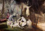 Джошуа Флинт: визуальные повествования в картинах маслом в стиле сюрреализма